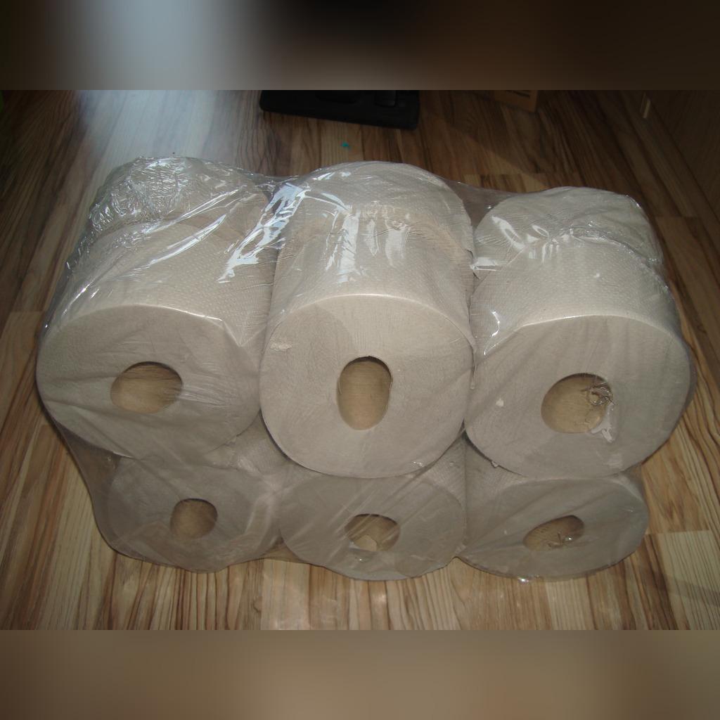 Туалетная бумага из вторсырья JUMBO_szary_12 роликов