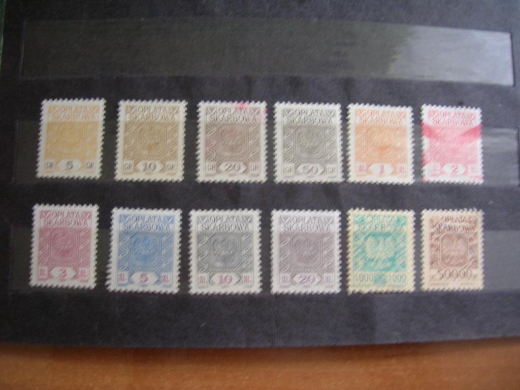 znaczki skarbowe znaki opłaty skarbowej