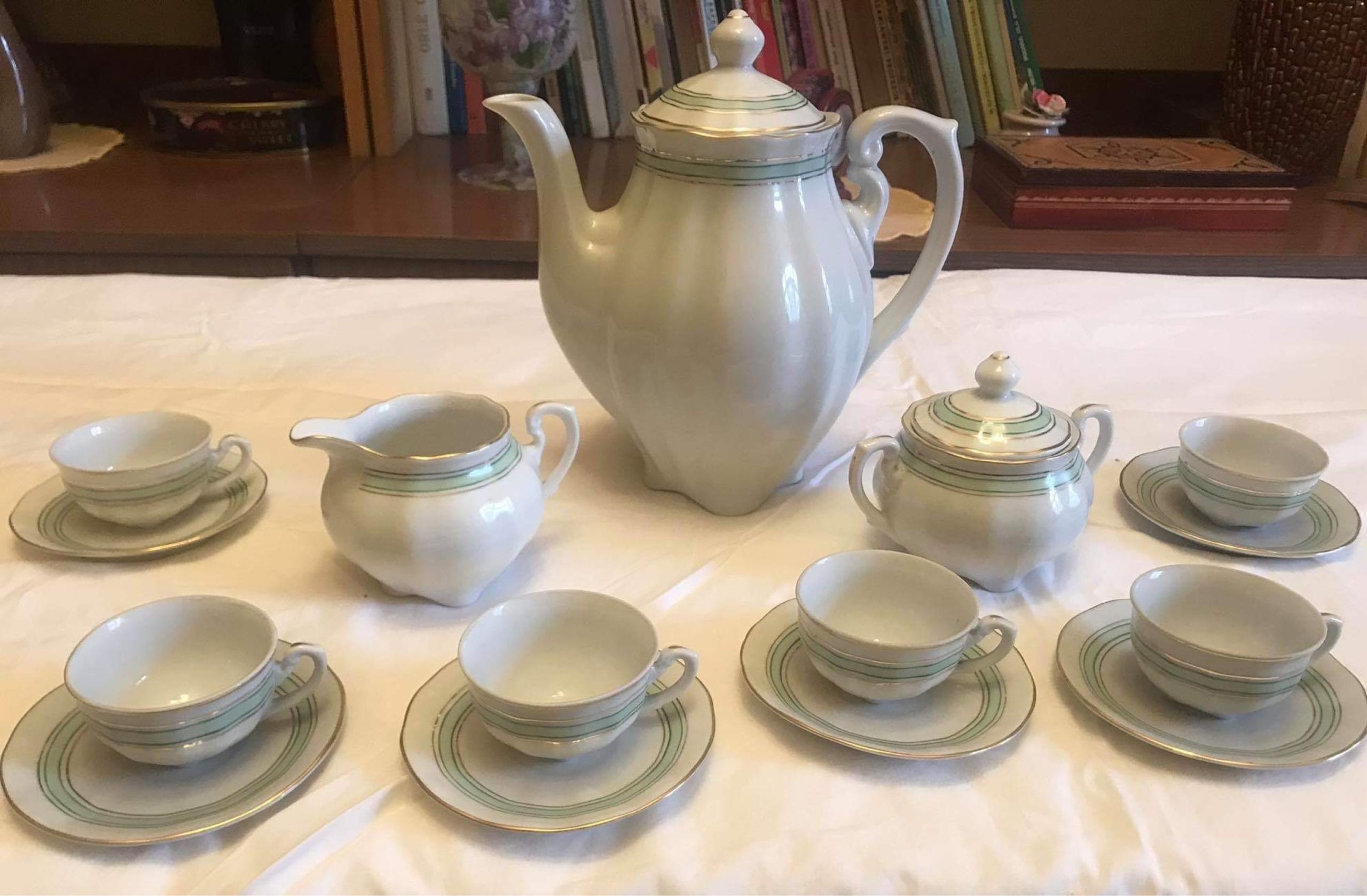 Unikalny porcelanowy serwis Cmielow-lata 50 XX w.