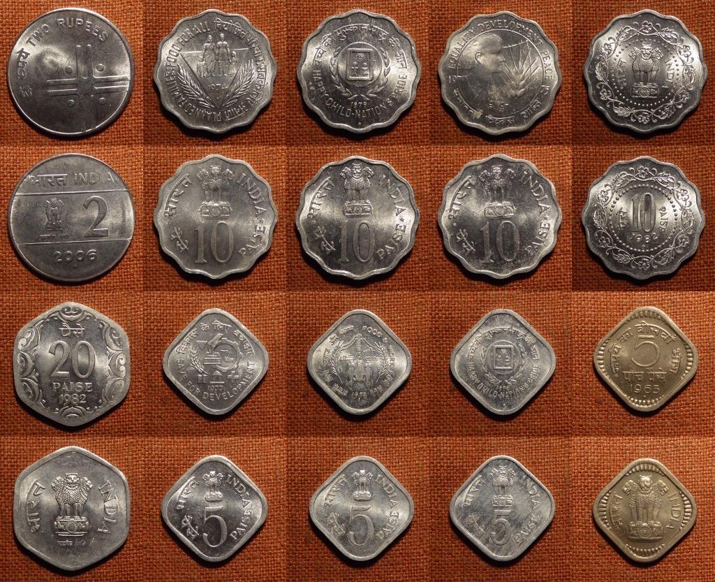 INDIE - zestaw monet B