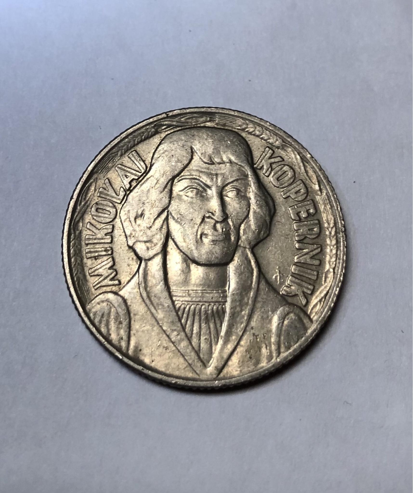Kolekcjonerska moneta 10 zł Mikołaj Kopernik