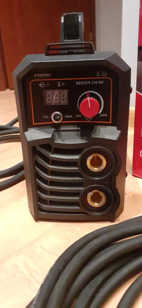 Licytacja Spawarka Inwertorowa Bester 210 Nd 230v Przemysl Allegro Lokalnie