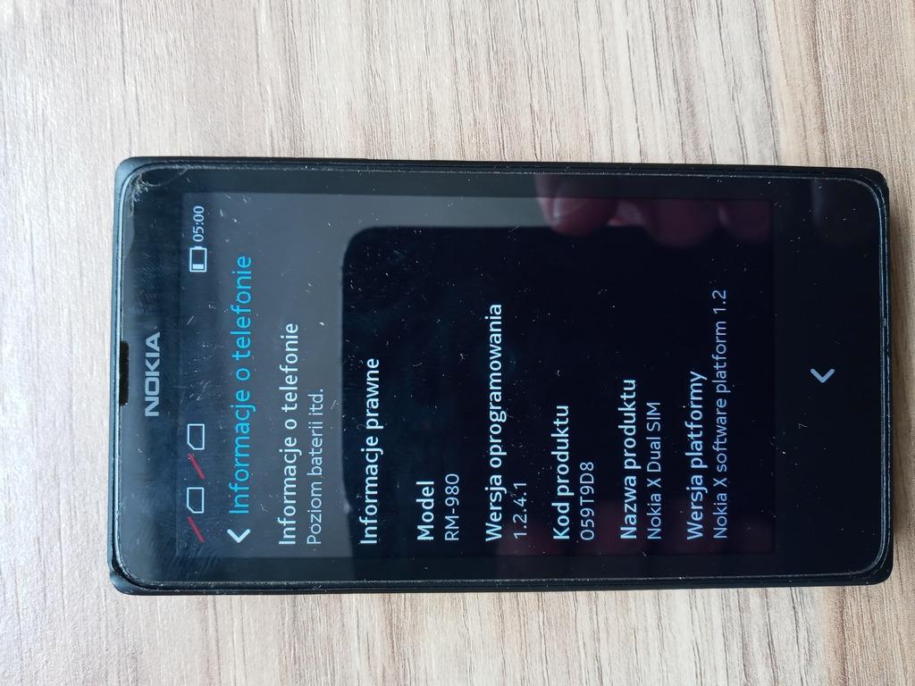 Nokia X Dual Sim Kup Teraz Za 25 00 Zl Miechow Allegro Lokalnie