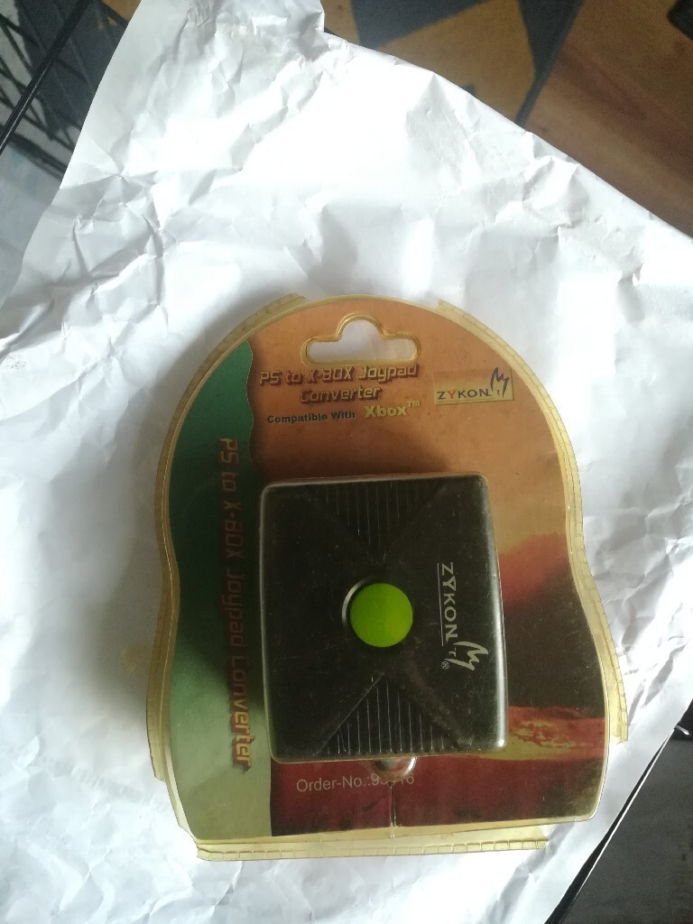 Купить Адаптер Xbox classic для ps2 на Otpravka - цены и фото - доставка из Польши и стран Европы в Украину.