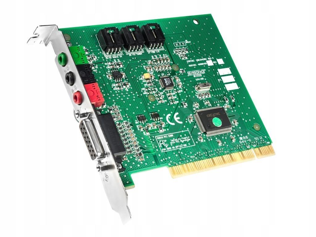 Купить Звуковая карта ENSONIQ PCI ES1370 Sound Blaster на Otpravka - цены и фото - доставка из Польши и стран Европы в Украину.