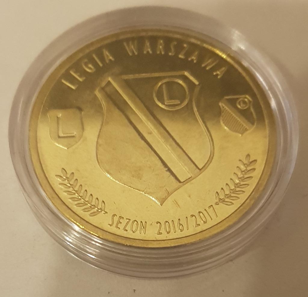Dukat Moneta Zeton Legia Warszawa Sezon 2016 2017 Kup Teraz Za 64 99 Zl Rudnik Nad Sanem Allegro Lokalnie