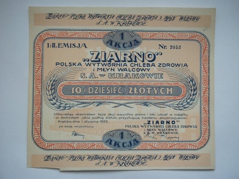 ЗЕРНО - KRAKÓW 1928