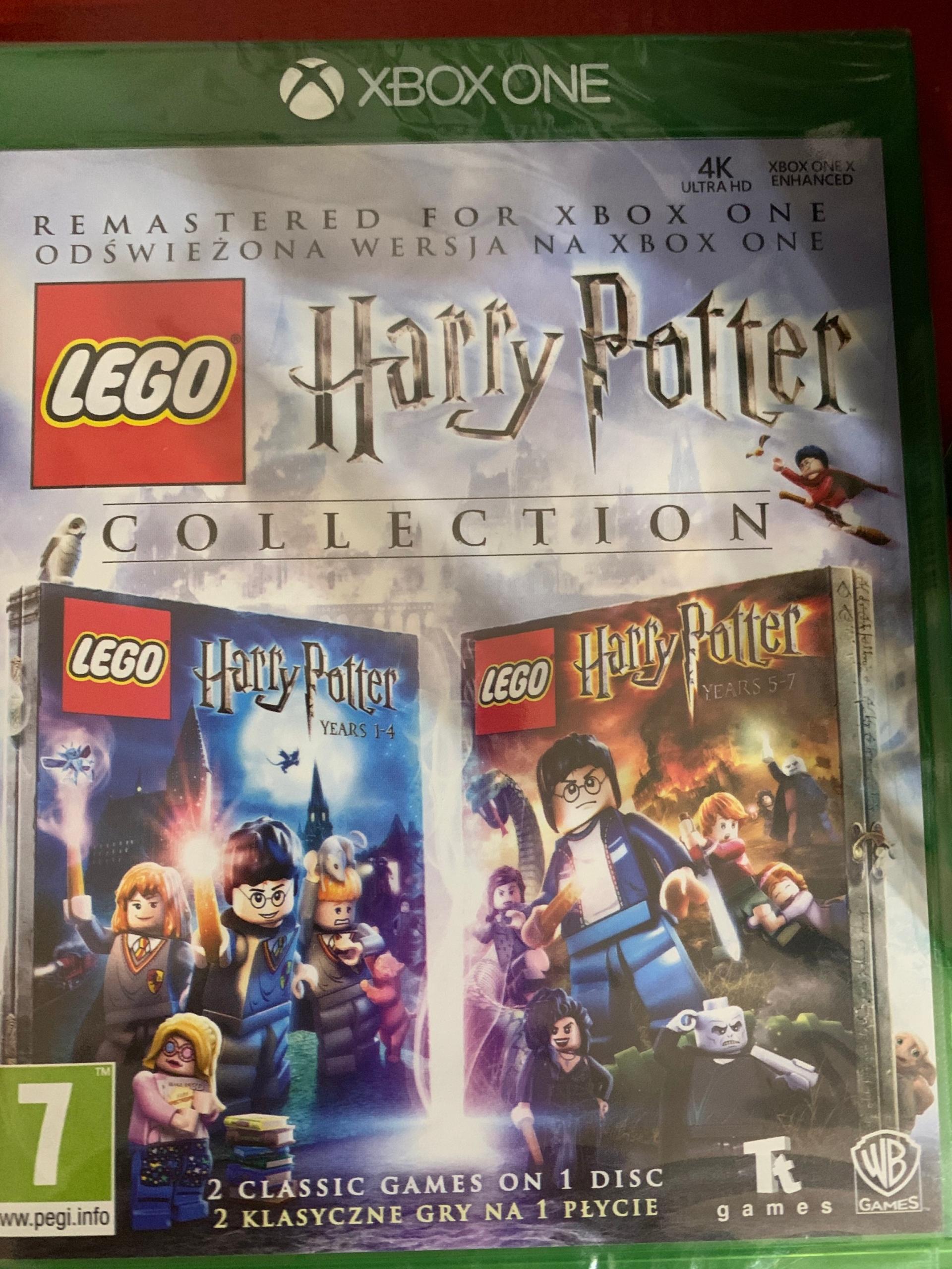 Lego Harry Potter Collection Xbox One Cena 75 00 Zl Chelm Allegro Lokalnie