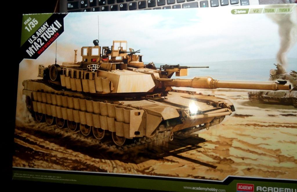 Academy Abrams Tusk II 1/35 plus metalowa lufa