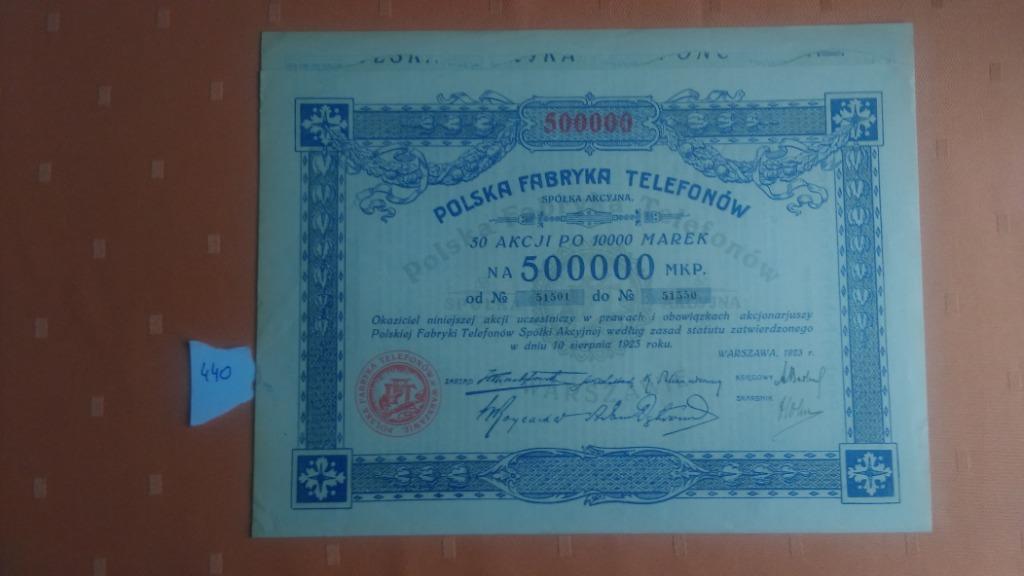 Купить Польский телефонный завод 50 * 10к Марек 1923 на Otpravka - цены и фото - доставка из Польши и стран Европы в Украину.
