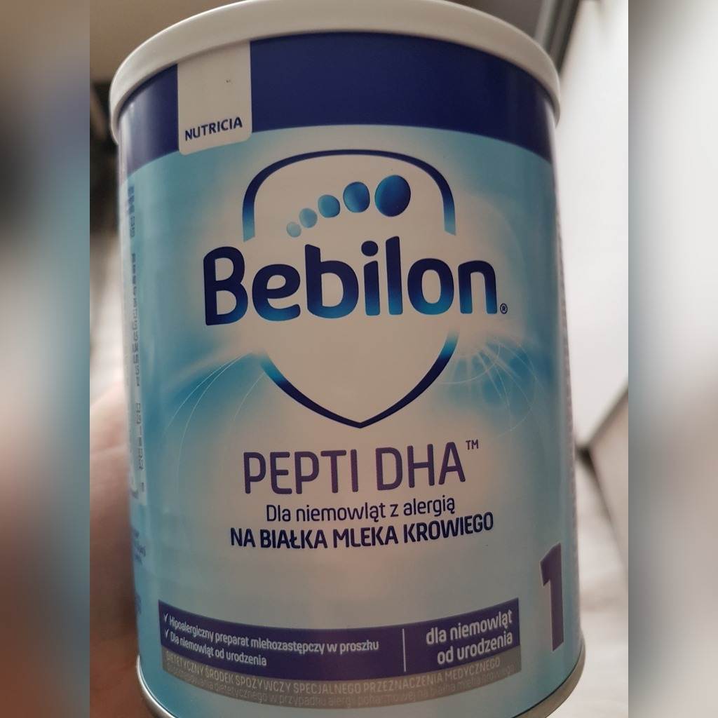 Bebilon Pepti Dha 1 X4 Opakowania 400 Gr Cena 100 00 Zl Gliwice Allegro Lokalnie