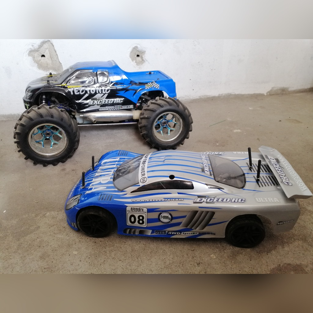 Auta Spalinowe Rc Monster Racing Exceed 4wd Kup Teraz Za 1200 00 Zl Wierzawice Allegro Lokalnie