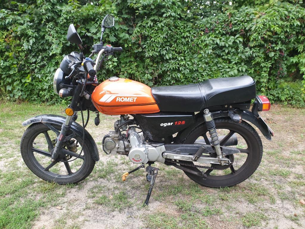 Motocykl 125 Romet Ogar 125 Cena 2000 00 Zl Warszawa Allegro Lokalnie