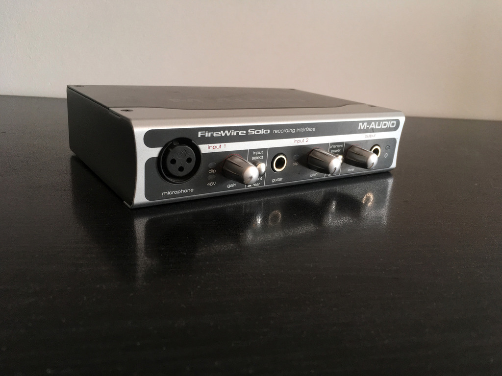 Item M-audio FireWire Solo audio interface for MAC / PC