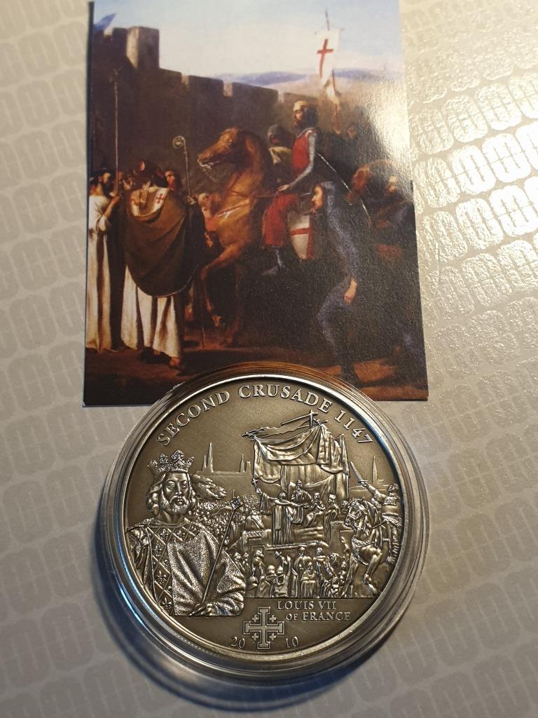 Cook Islands 5$ 2010r druga moneta z serii histori