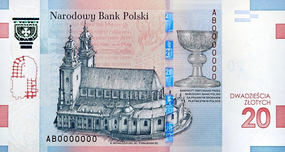 Banknot 20 Zl 1050 Rocznica Chrztu Polski Kup Teraz Za 1300 00 Zl Zyrardow Allegro Lokalnie