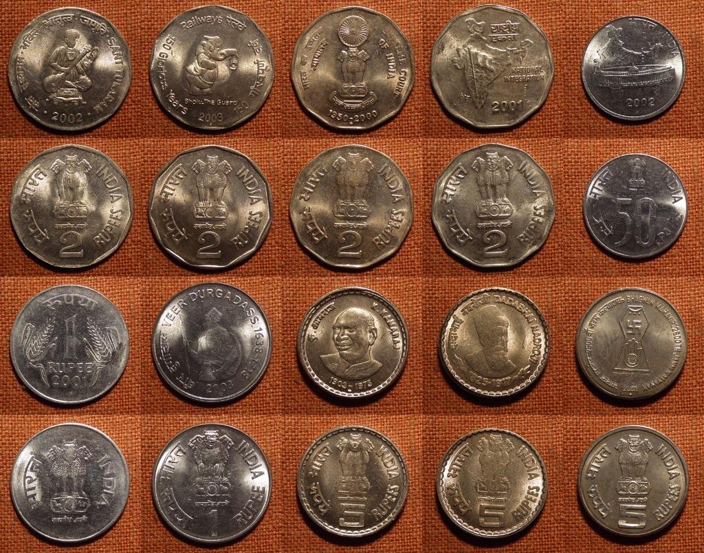INDIE - zestaw monet A