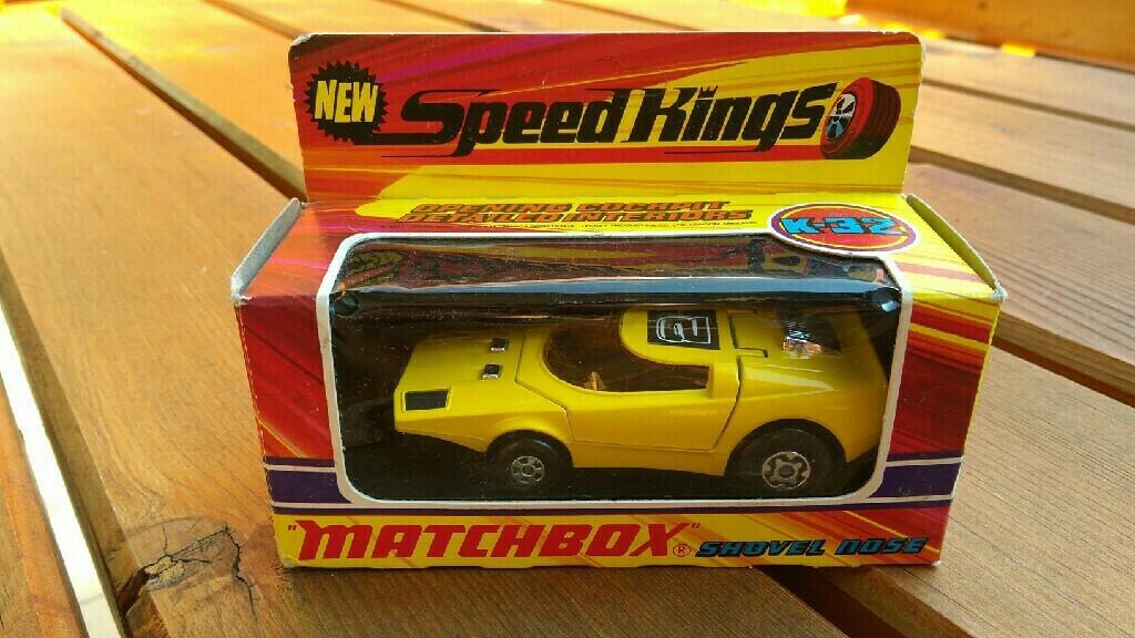 Matchbox nowy Shovel nose Speed Kings