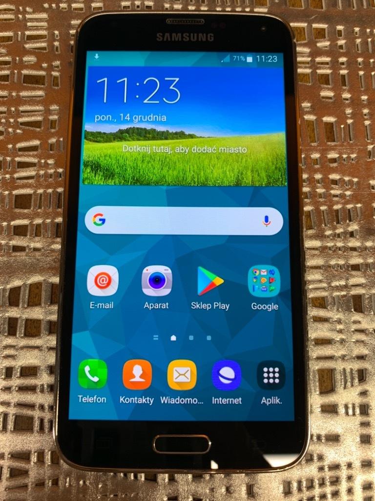 Купить Samsun Galaxy  S5 SM-G900F 16GB + ETUI на Otpravka - цены и фото - доставка из Польши и стран Европы в Украину.