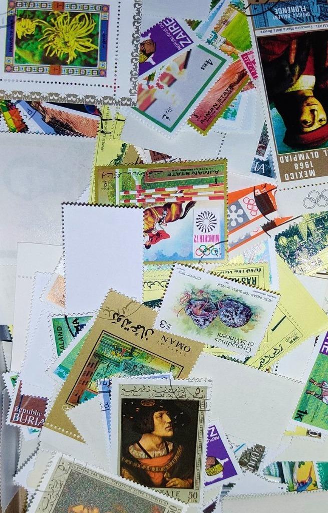 1kg znaczków pocztowych+egzotyka WYPRZEDAŻ!!!