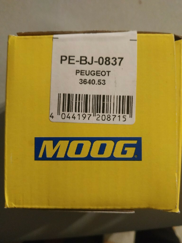 болт руля moog pe-bj-0837