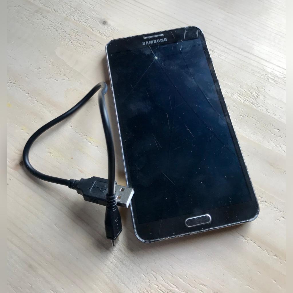 Czarny Samsung Galaxy Note 3 Sm N9005 Pekniecie Kup Teraz Za 149 00 Zl Lodz Allegro Lokalnie