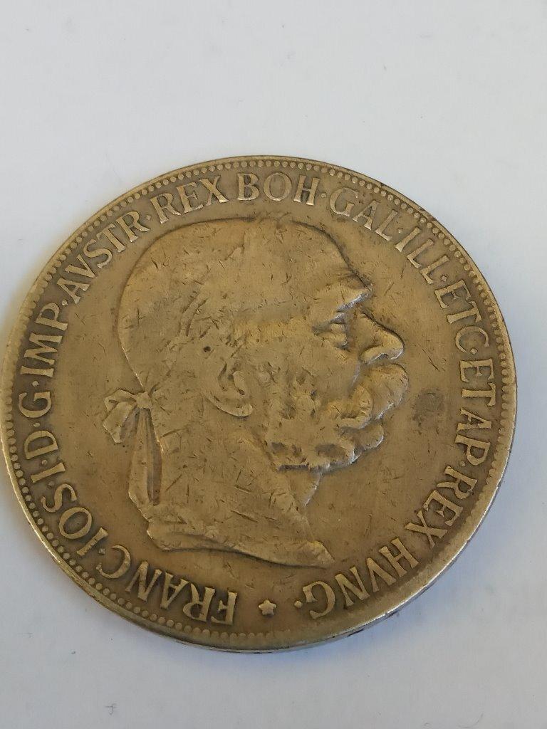 Austria 5 koron 1900  Franciszek Józef I srebro