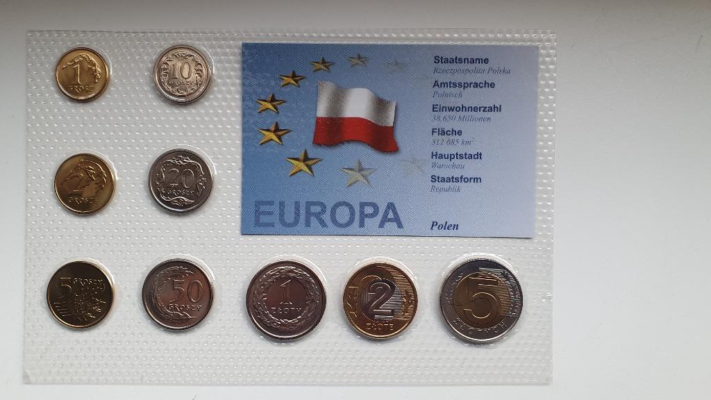 Zestaw rocznikowy Polska 2 złote  1994  mennicze
