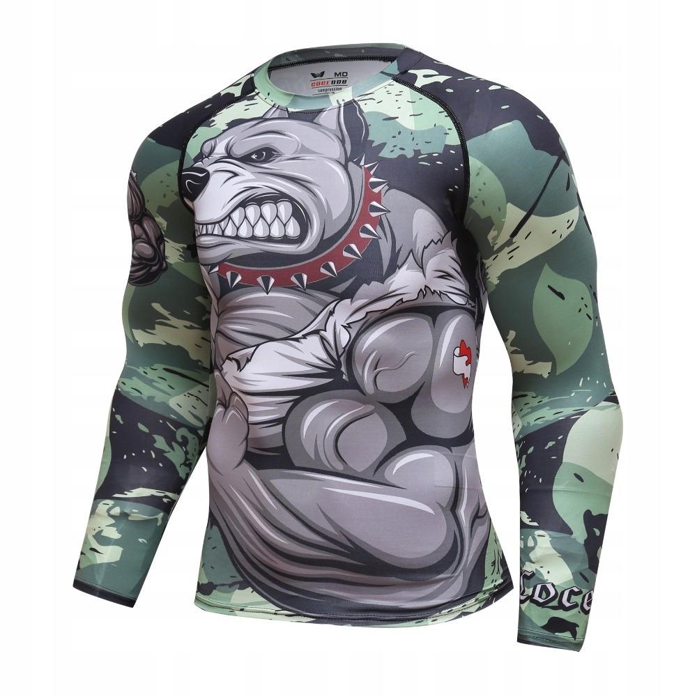 Koszulka Mma Pitbull Rashguard Na Silownie Roz Xxl Kup Teraz Za 60 00 Zl Chiny Allegro Lokalnie