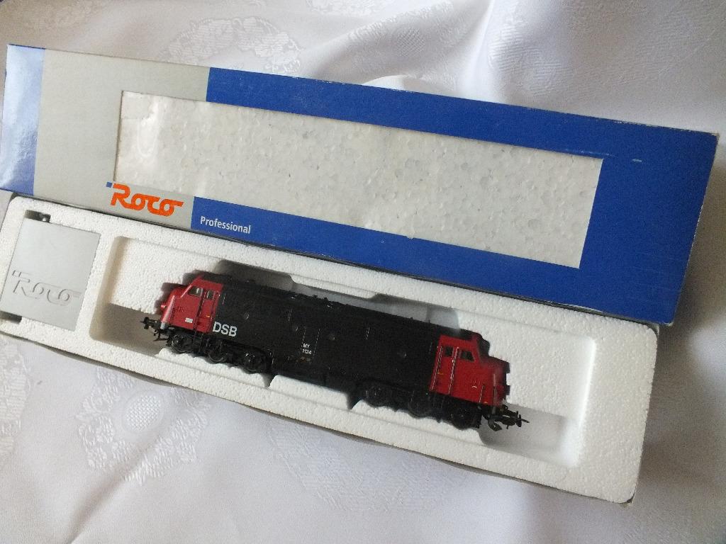 Roco, DSB Locomotive, MY 1124, со звуковым декором.
