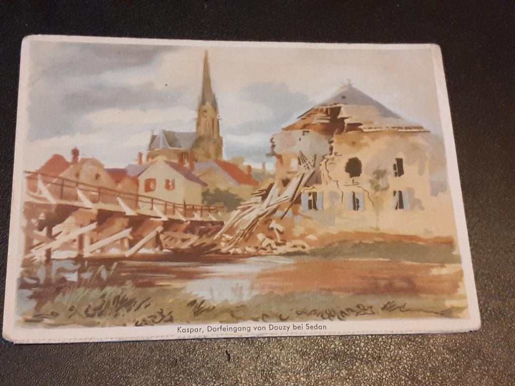Karta pocztowa - Feldpostkarte, 1941rok.