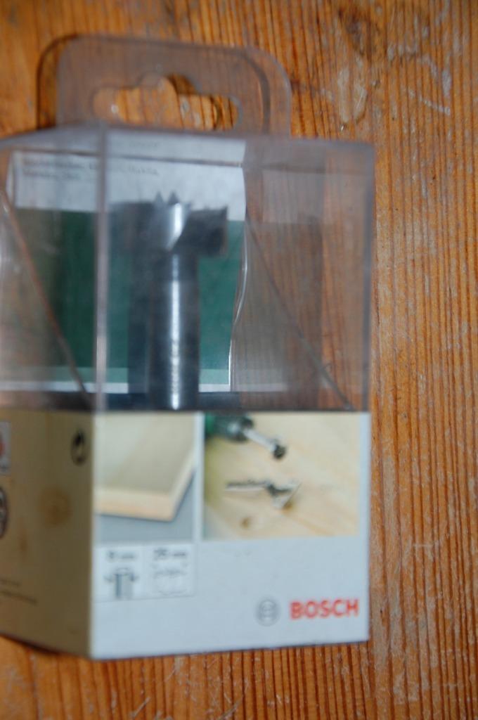 nowy frez sekownik bosch 25mm