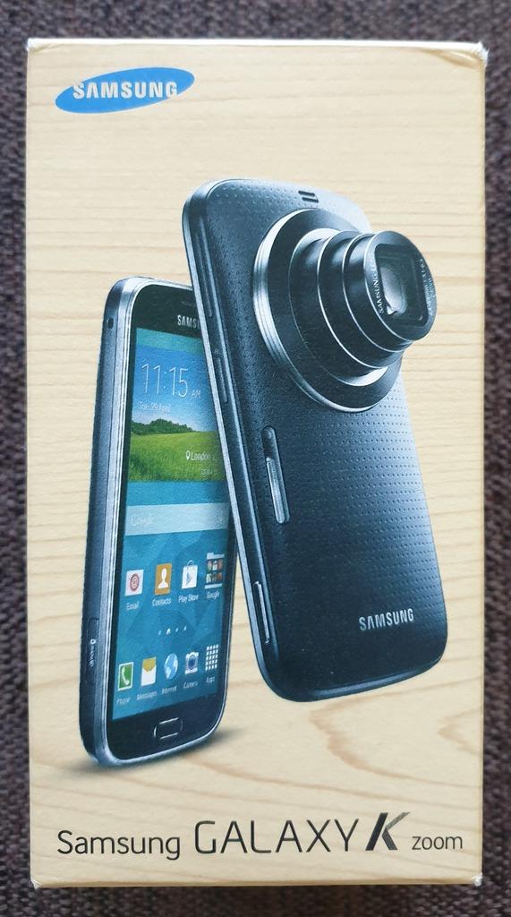 Licytacja Samsung Galaxy K Zoom Sm C115 Czarny 8gb 20 7mpix Poznan Allegro Lokalnie