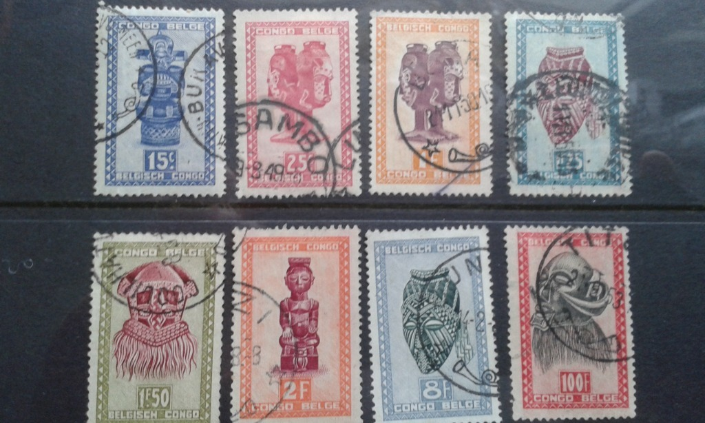 Kongo Belgijskie 1948 - 51. Cena do negocjacji.
