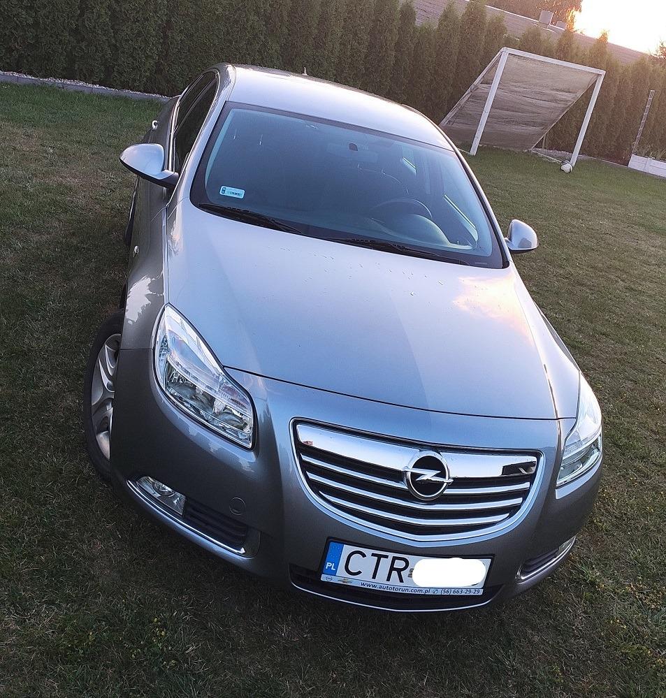 Opel Insignia Benzyna Gaz 1 8 16v 140km Srebrna Cena 28900 00 Zl Glogowo Allegro Lokalnie