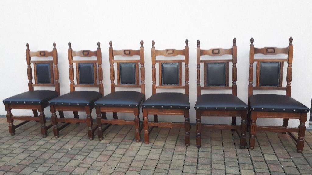 Zestaw 6 krzeseł