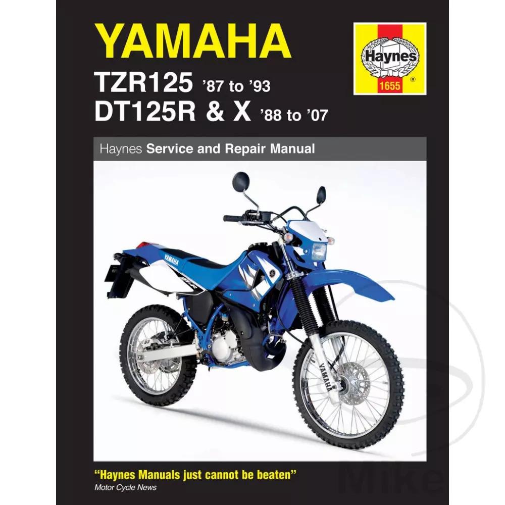 PASLAUGA YAMAHA DT 125 RE X TZR