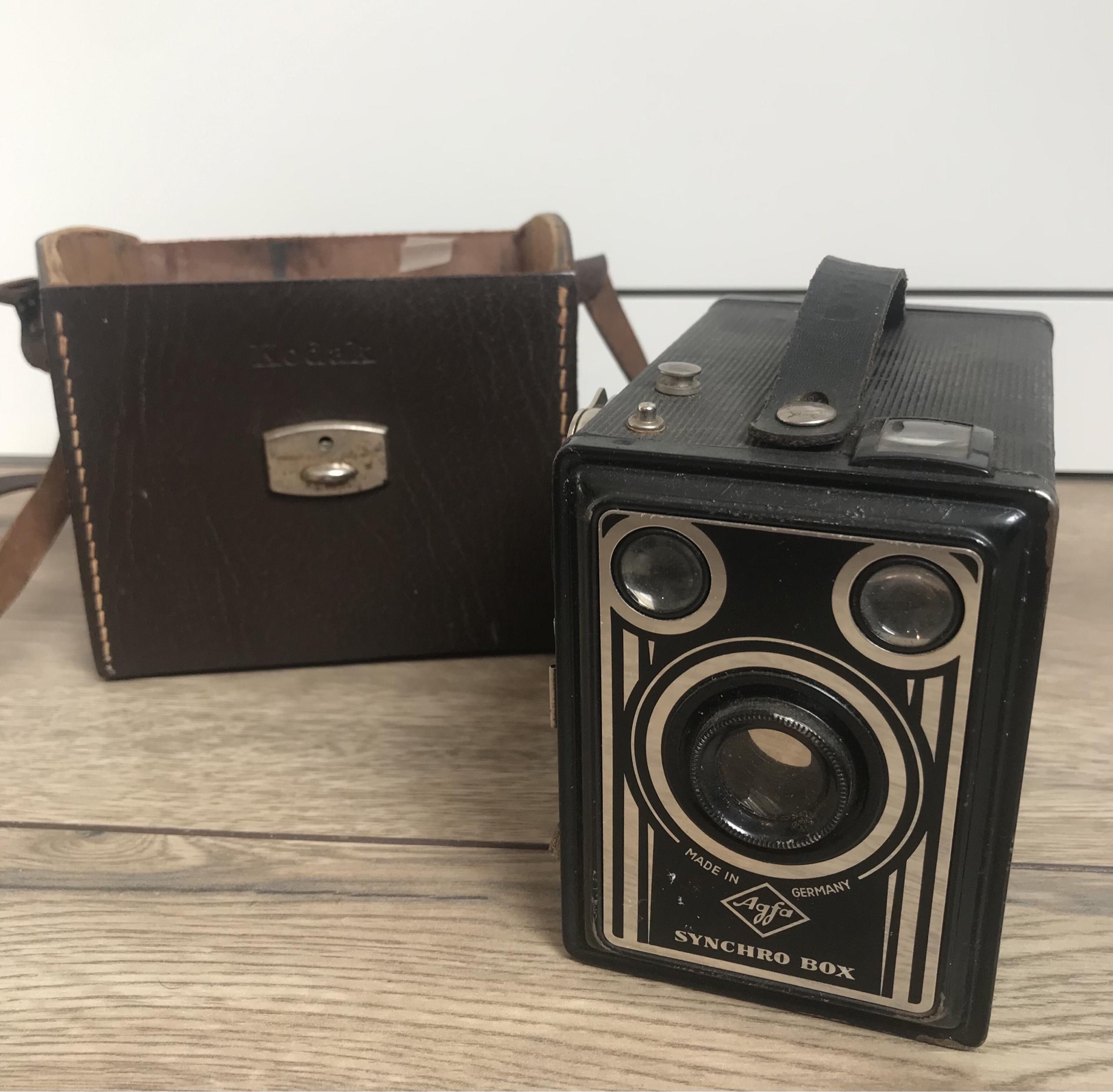 Камеры Agfa Synchro Box