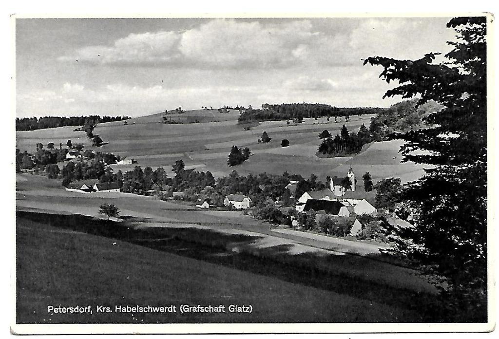 Piotrowice, (Petersdorf)