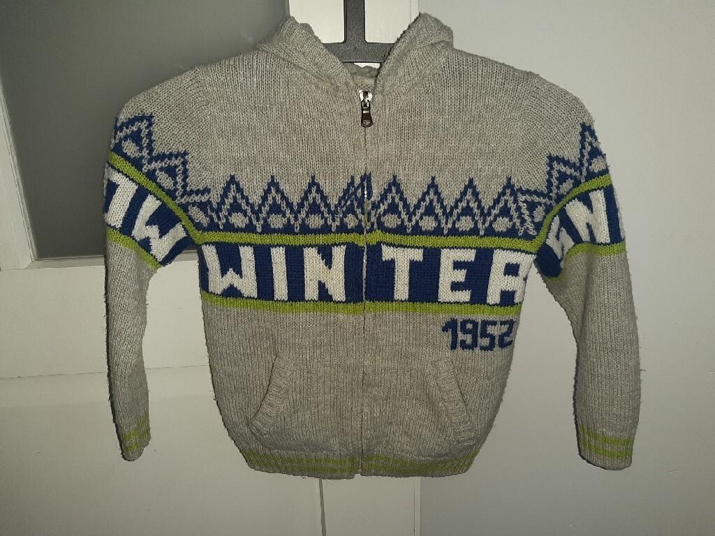 Bluza chłopięca, sweter na zamek R.116,Cool Club