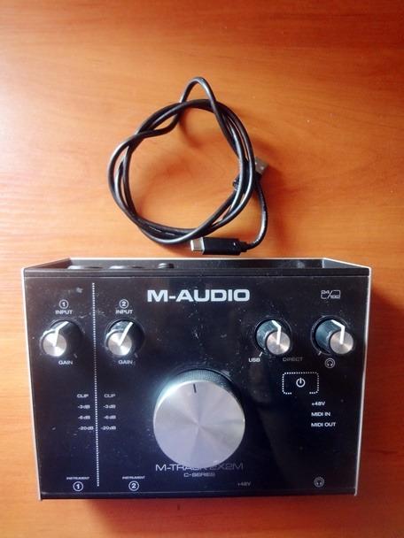 Item M-Audio M-Track usb interface 2Х2М