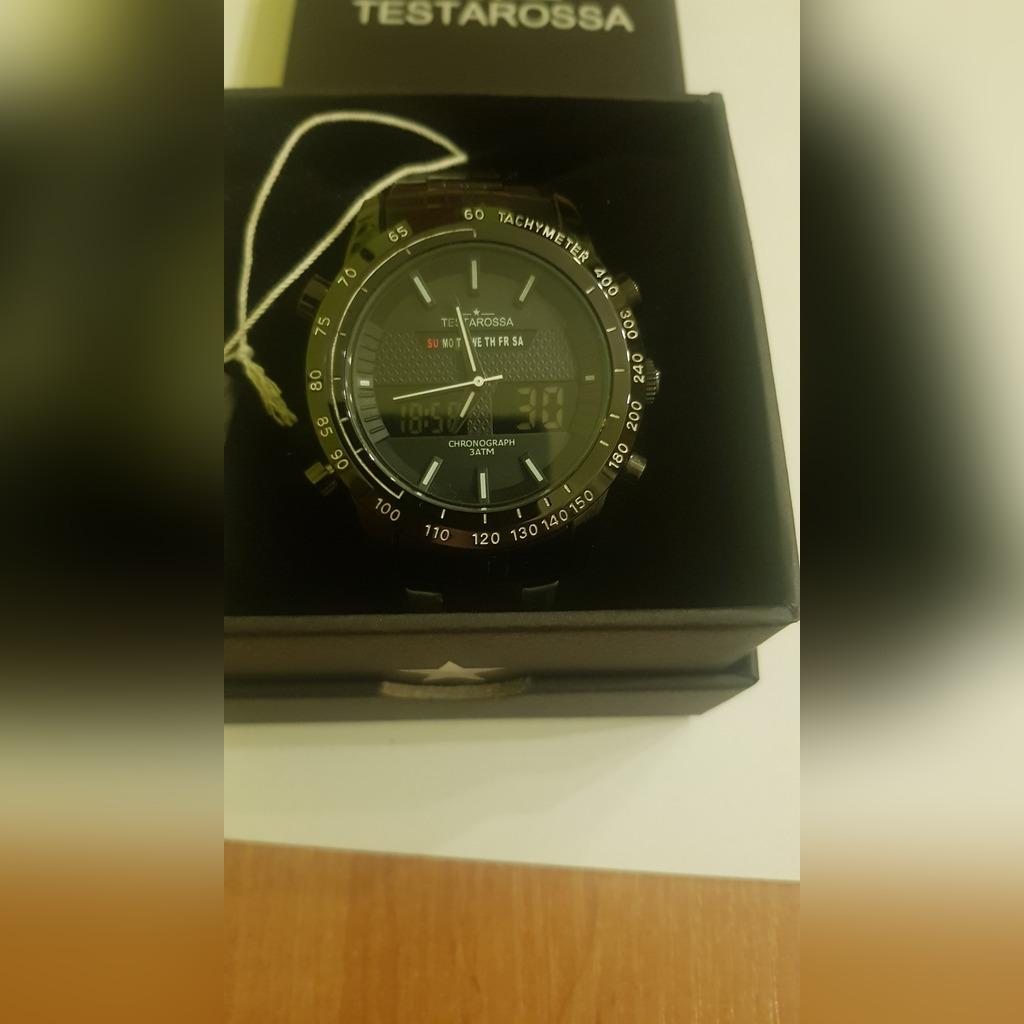 Zegarek męski testarossa chrono lcd tr7650 illumin Galeria