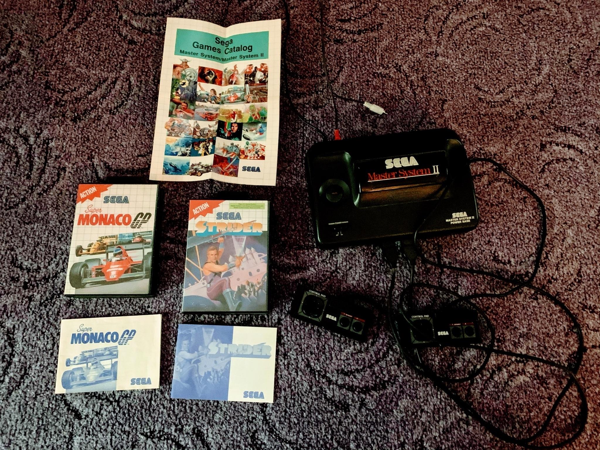 Купить Ретро система Sega Master II на Otpravka - цены и фото - доставка из Польши и стран Европы в Украину.