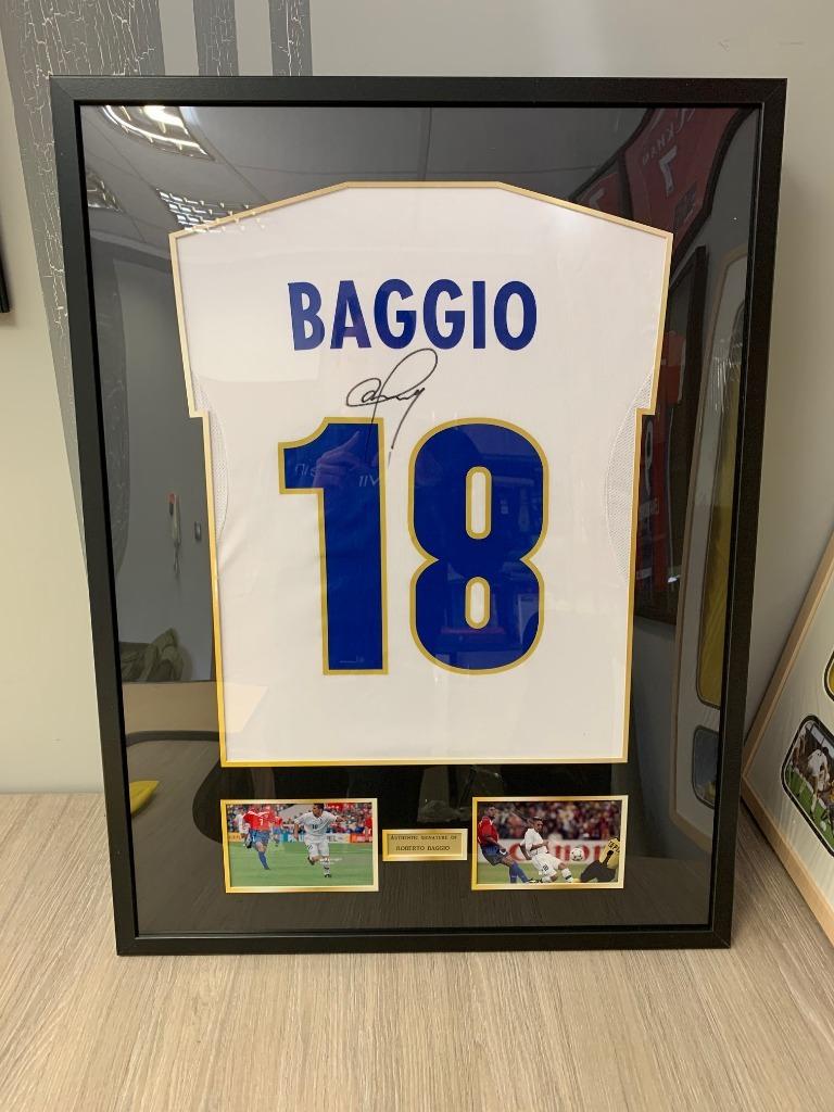 Футболка Autograph Signature Роберто Баджо подарок