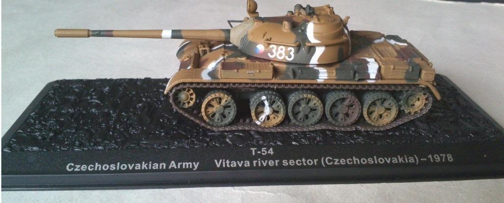 T-54 CZECHOSLOVAKIAN ARMY 1978 ATLAYA 1/72 UNIKAT