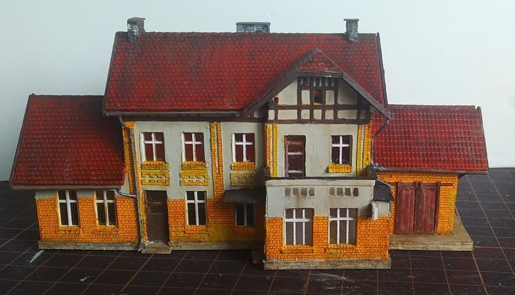 здание вокзала Дзержовице