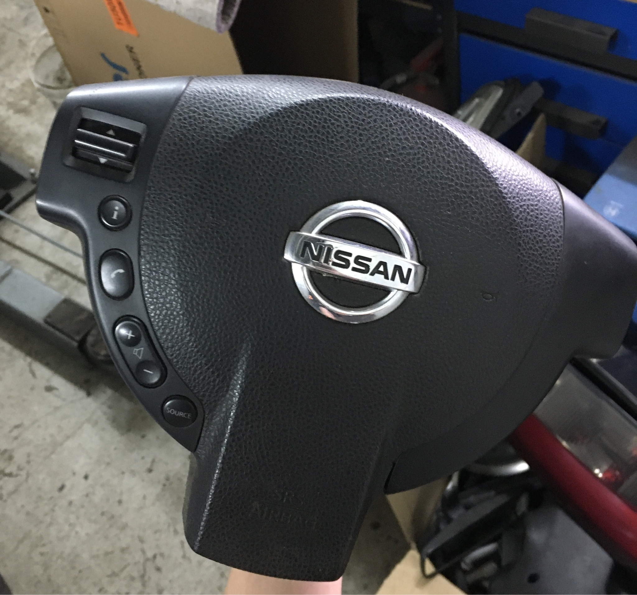 Picture of PILLOW (AIR BAG) NISSAN QASHQAI J10 AIR BAG DRIVERS