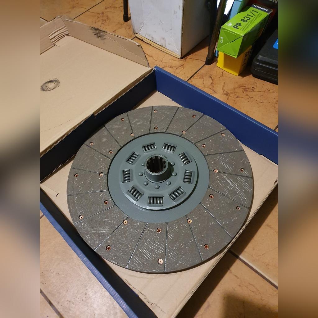 Ведомый диск сцепления Jelcz 10z 430 диаметр