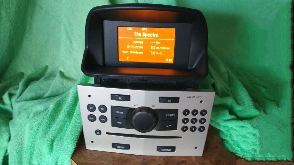 радио cd 30 mp3 + дисплей gid 3 l corsa d