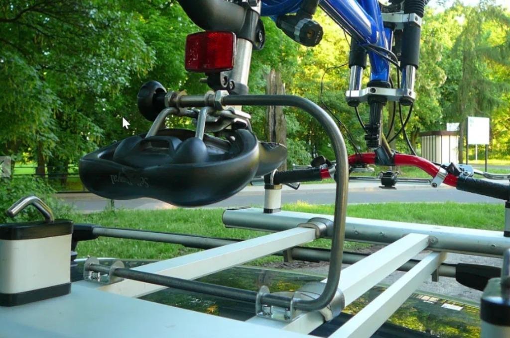 Bagażnik rowerowy Sagner REVOLV 230 łatwe